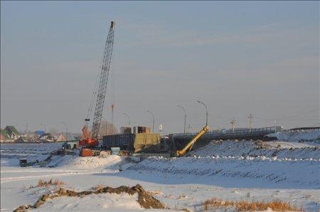 Губернатор ознакомился с ходом работ на втором пусковом комплексе автодороги «118 км а/д «К-17р»