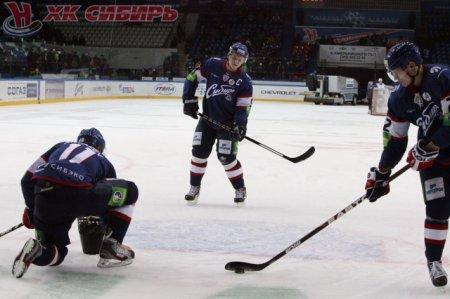 4:2 – Хоккейная «Сибирь» разгромила словацкий «Лев»
