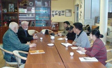 Китайские ученые посетили Класс Конфуция НГУ