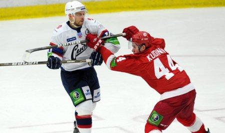 6:4 – хоккейная «Сибирь» разгромила «Витязь»