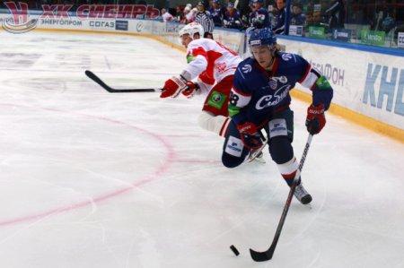 3:2 – хоккейная «Сибирь» одержала победу над московским «Спартаком»