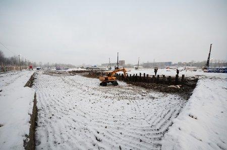 На берегу Оби началось строительство «Европейского берега»