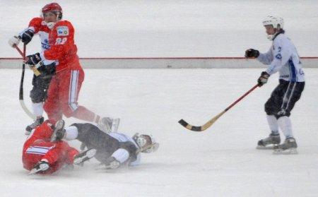 3:3 - новосибирские хоккеисты сыграли вничью с иркутским «Байкалом»