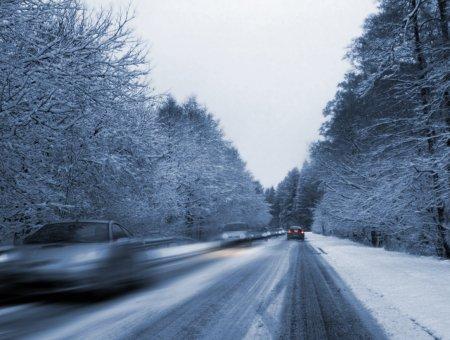 Особенности вождения в зимнее время