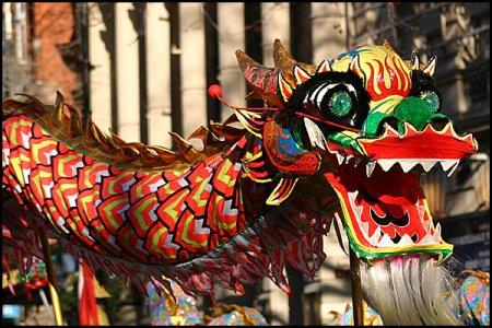 Китайский новый год отметили в Новосибирске