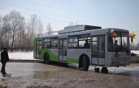 До аэропорта «Толмачёво» запускается троллейбус на батарейках