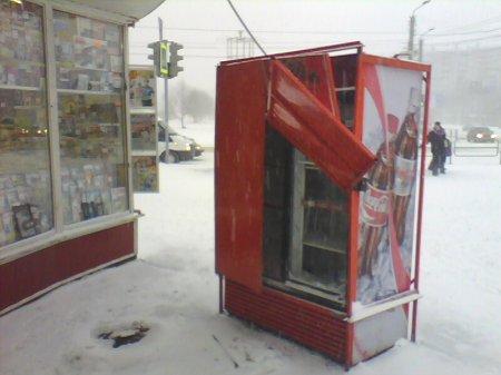 Кража кока-колы из холодильника в 30-градусный мороз раскрыта по горячим следам