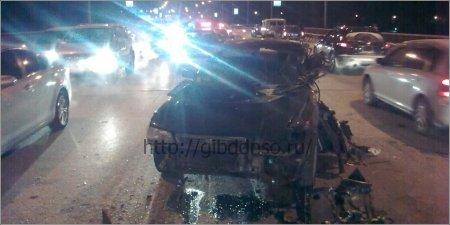 Крупное ДТП на Кировском мосту 1 человек погиб