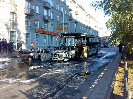 Водитель сгоревшего автобуса не признал вины