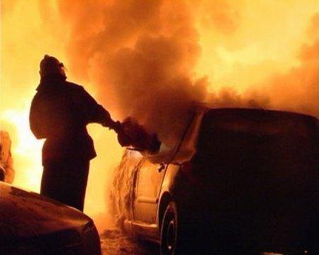 В Новосибирской области сгорели два автомобиля
