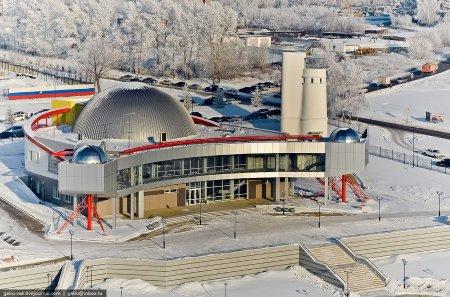 Планетарий Новосибирска:официальное открытие в конце января