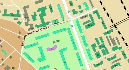 Закрывается движение по ул. Владимировский спуск