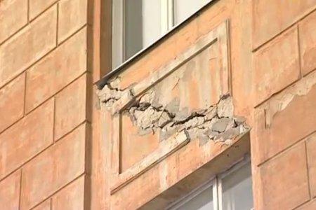 Стены перекошены, трещины все шире