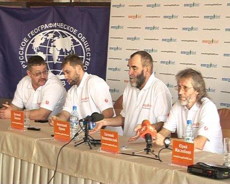 Анатолий Кулик уходит в последний этап кругосветки