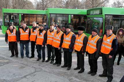 Скоростной трамвай и метро в Новосибирске.