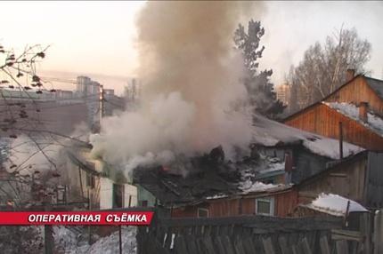 Одиннадцать частных домов сгорели за выходные