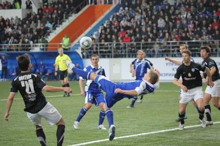 Футбольная «Сибирь» крупно проиграла «Нижнему Новгороду» в стартовом матче сезона-2012