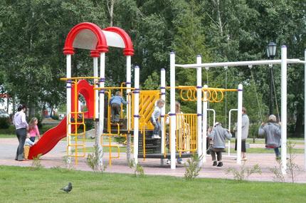 Где в Новосибирске будут установлены детские площадки в 2012 году