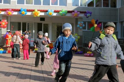 В 2012 году в Новосибирске появится ещё 3700 мест для дошкольников
