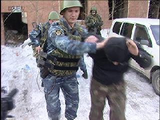 """""""Террористы"""" проникли в здание ГУФСИН"""
