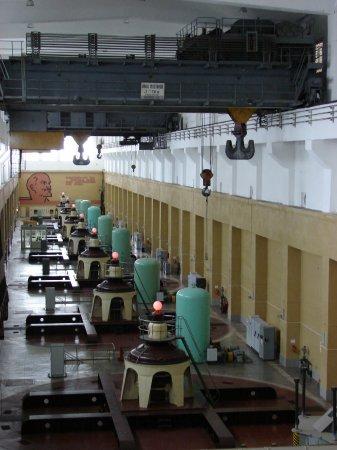 На Новосибирской ГЭС проводится реконструкция систем оперативного переменного тока оборудовани