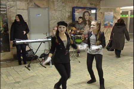 Концерт в метро