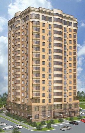 На ул. Романова началось строительство 18-этажного дома
