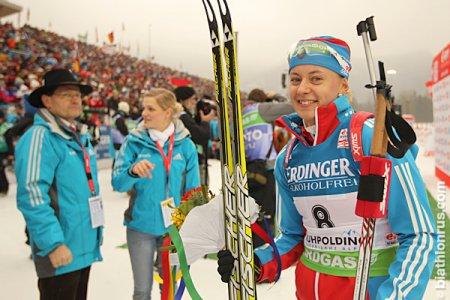 Новосибирская биатлонистка завоевала бронзу на чемпионате мира