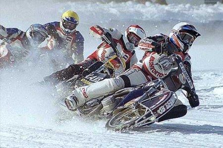 Финал Кубка России по мотогонкам на льду пройдет в Новосибирске