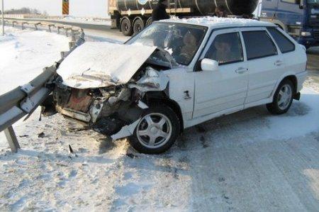 207 ДТП произошло в Новосибирске за первые два месяца 2012 года