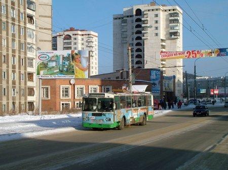 Движение троллейбуса № 29 закрывается на 5 месяцев
