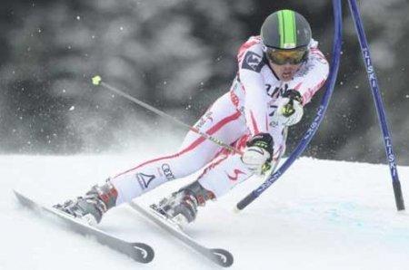 Сергей Майтаков завоевал золото этапа Кубка Европы по горнолыжному спорту