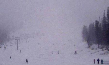 Снегопад в Шерегеше обнадежил горнолыжников