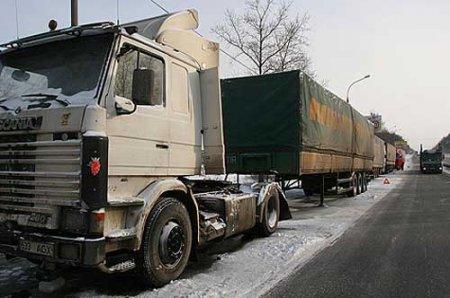 Вводится временное ограничение движения большегрузного транспорта