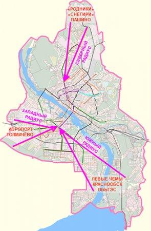 пути скоростного трамвая в
