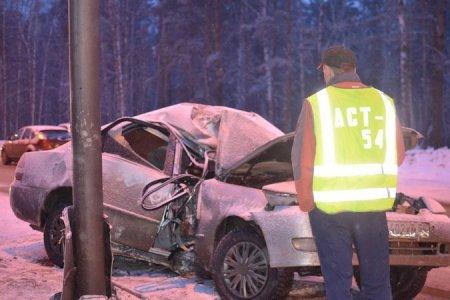 В Новосибирске водитель разбился насмерть на Бердском шоссе