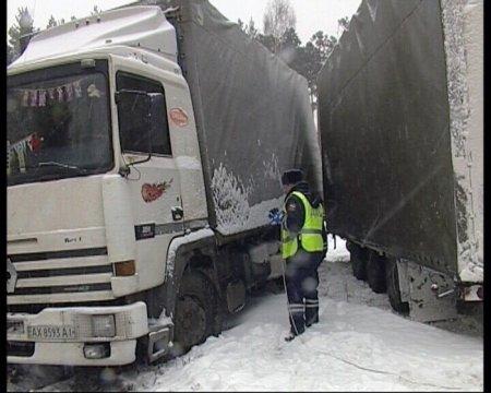 Большегрузы не пустят в Новосибирск