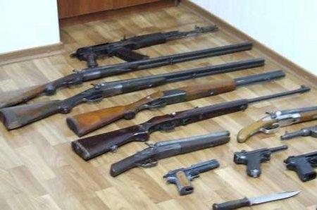 Спецслужбы за неделю изъяли в Новосибирской области 55 единиц оружия