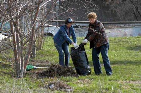 Массовая весенняя уборка города начинается 1 апреля