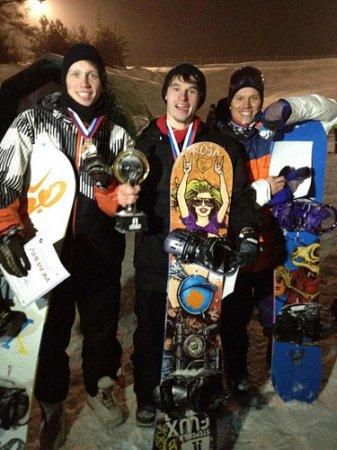 Новосибирские сноубордисты заняли весь пьедестал чемпионата России