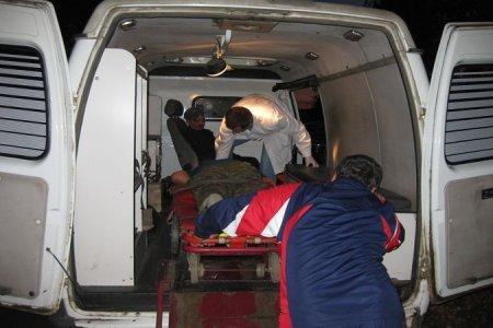 Ночью в Новосибирске пьяный водитель врезался в фонарный столб