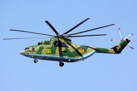Из Новосибирска в Казахстан после ремонта и модернизации отправился вертолет Ми-26