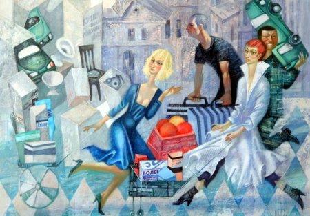 Выставка художника Сергея Меньшикова открылась в Городском центре изобразительных искусств