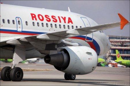 Самолет из Новосибирска экстренно приземлился в Санкт-Петербурге