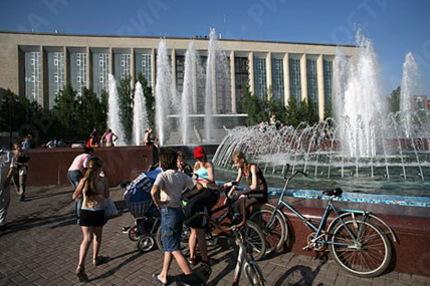 Новосибирские фонтаны заработают 8 мая