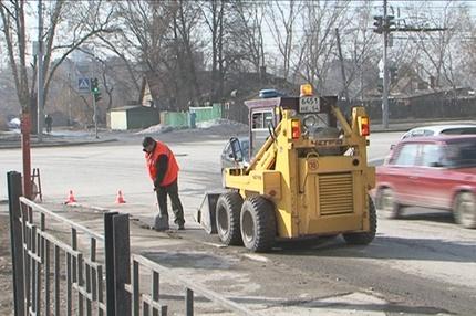 Машины-пылесосы выйдут чистить дороги Новосибирска