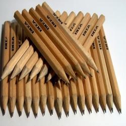 Томская фабрика изготовила 20 млн карандашей для IKEA