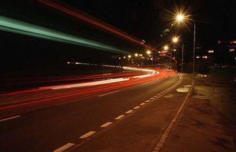 В Новосибирске прошла проверка освещенности дорог в ночное время