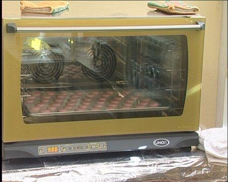 Пирожное из макарон