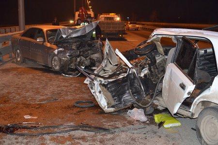 Водитель «Ниссана» собрал две встречных машины на Советском шоссе